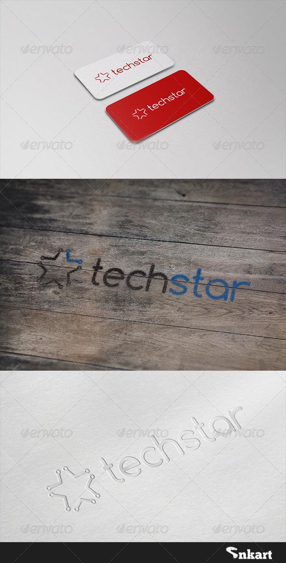 GraphicRiver Tachstart Logo 6526738