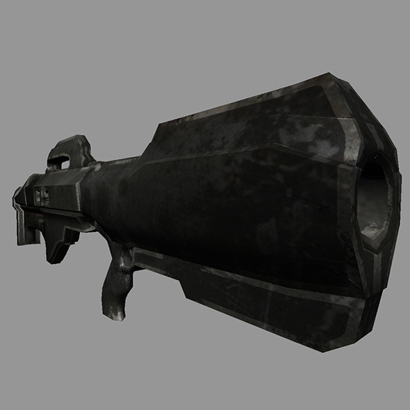 Sci-Fi Gun #4 - 3DOcean Item for Sale