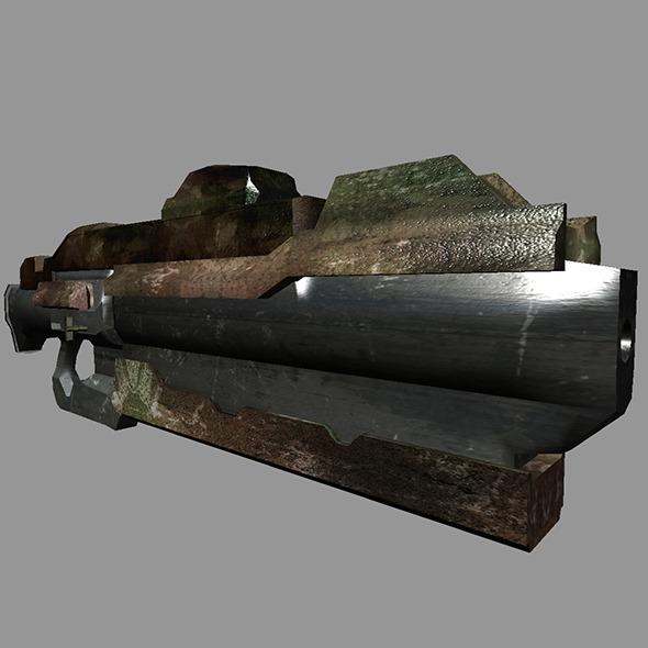 Sci-Fi Gun #5 - 3DOcean Item for Sale