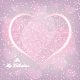 Valentine's Day Heart Shape Greeting Card - GraphicRiver Item for Sale