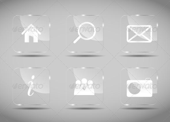 GraphicRiver Icon Set for Web 6527707