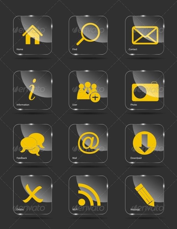 GraphicRiver Icon Set for Web 6527712