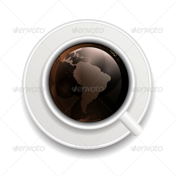 GraphicRiver Coffee with Globe 6527788