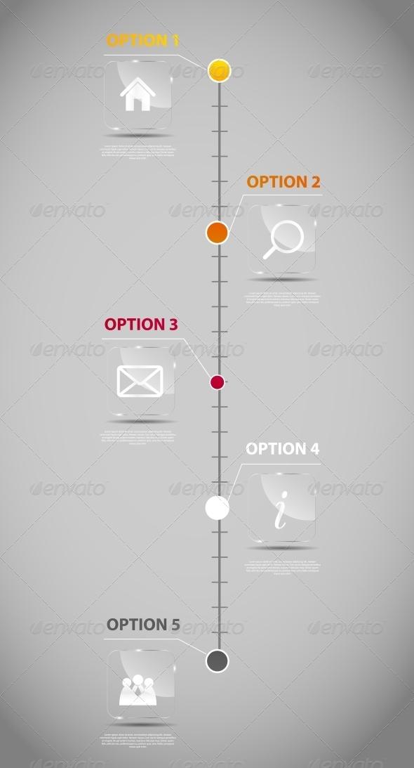 timeline infographic business template graphicriver. Black Bedroom Furniture Sets. Home Design Ideas