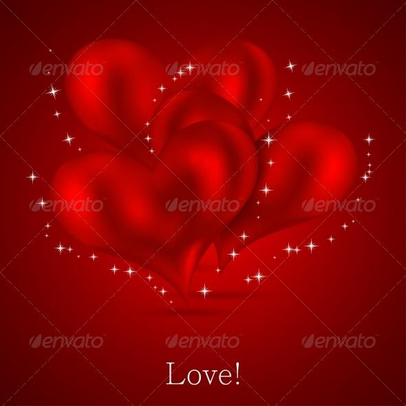 GraphicRiver Valentines Day Background 6527889