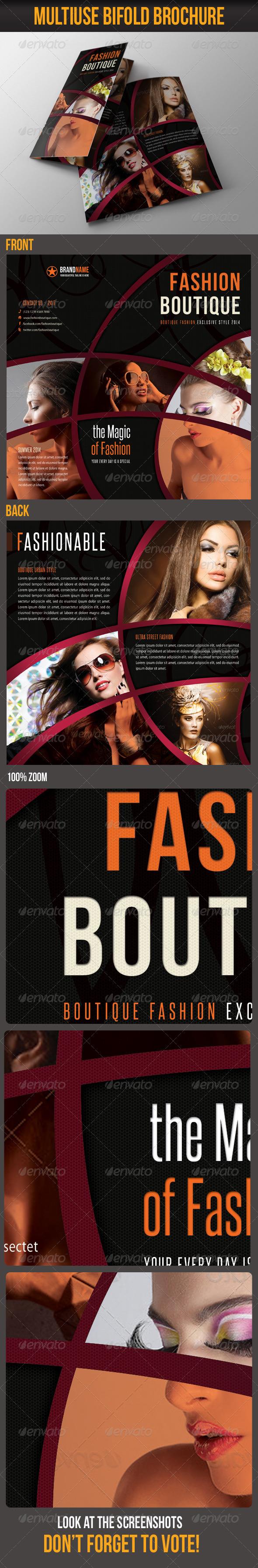 GraphicRiver Multiuse Bifold Brochure 38 6527905
