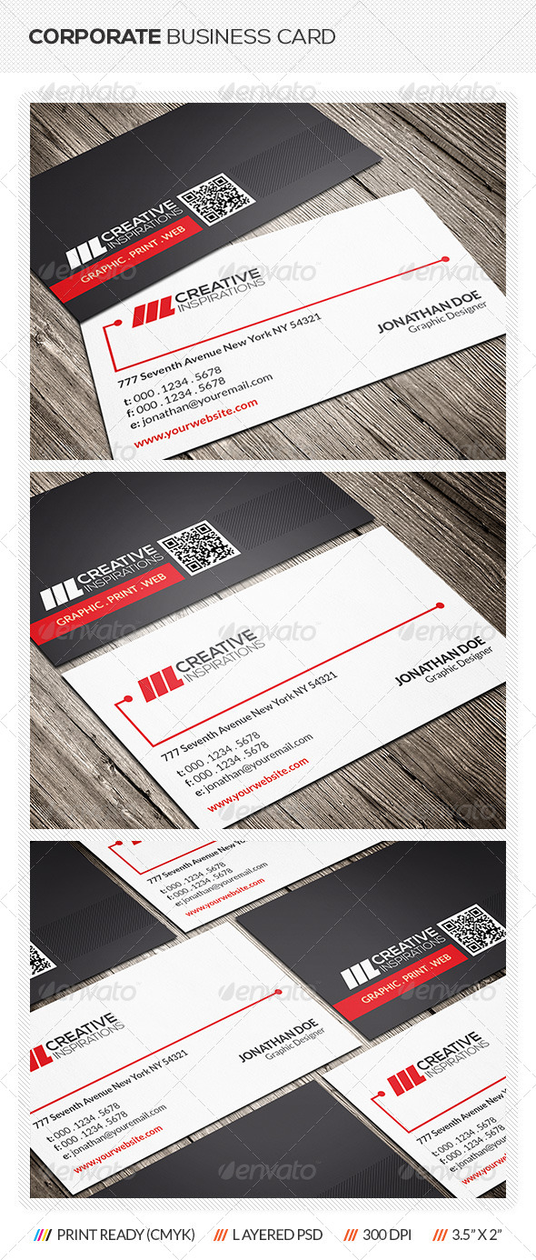 GraphicRiver Corporate Business Card 6528738