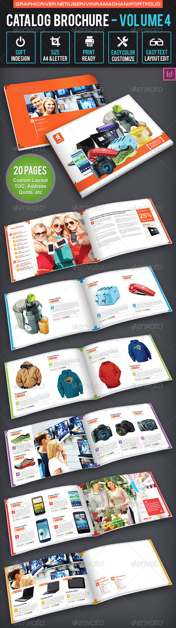 GraphicRiver Product Catalogs Brochure 6529091