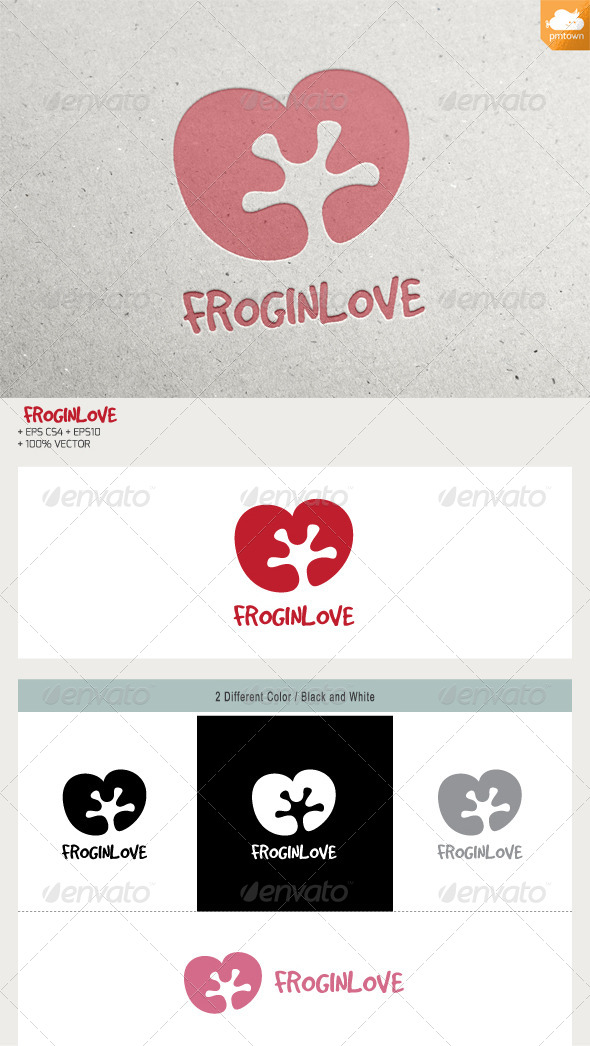 GraphicRiver Frog in Love 6529321