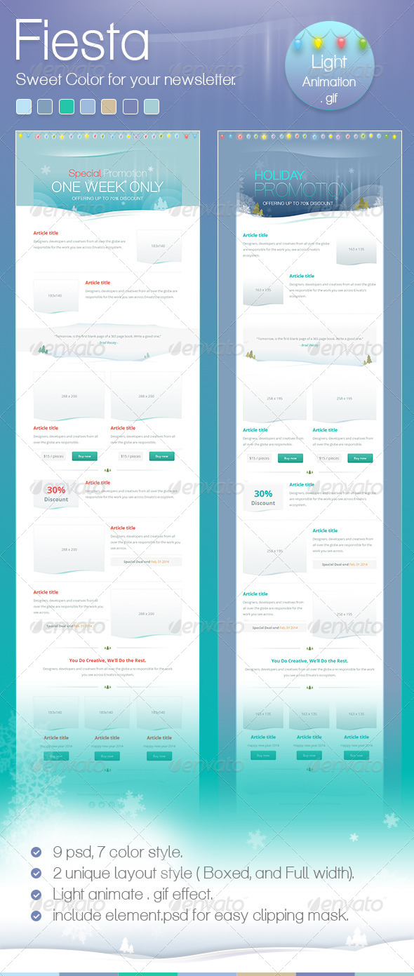 GraphicRiver Fiesta Mail 6529337