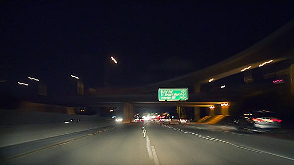 Night Highway Drive