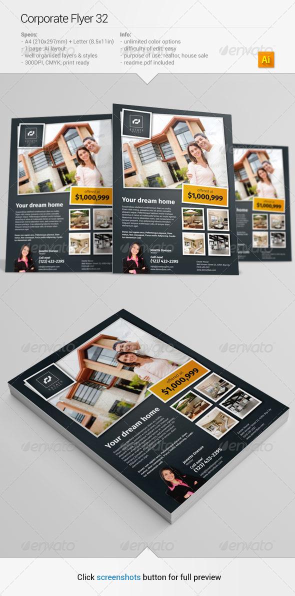 GraphicRiver Corporate Flyer 32 6529872