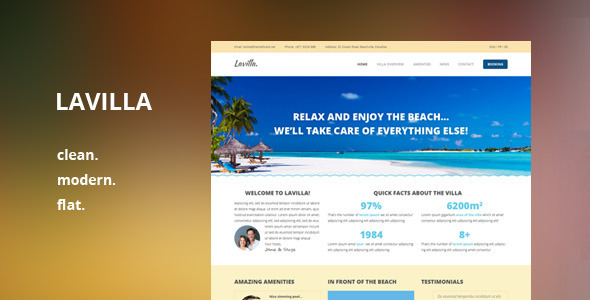 ThemeForest Lavilla PSD 6529885