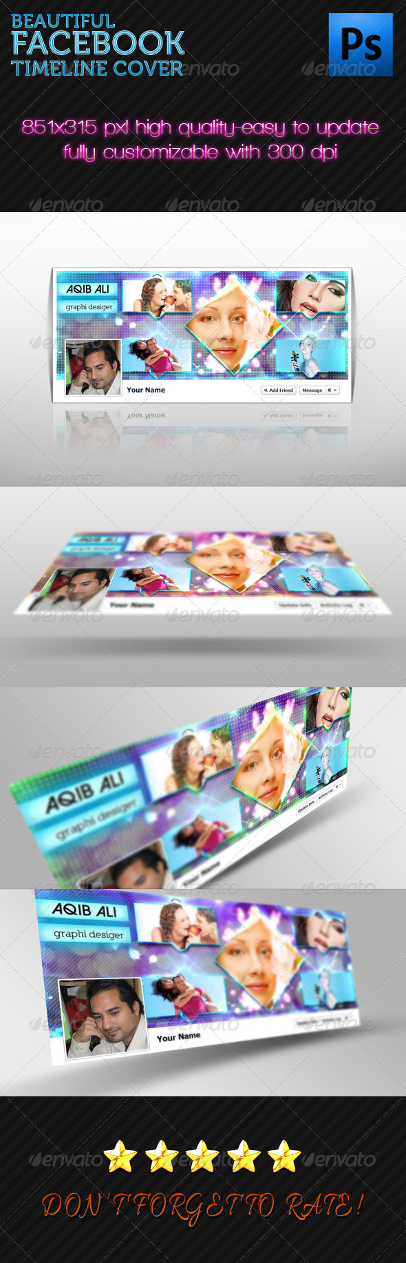 GraphicRiver Facebook Timeline 05 6530788