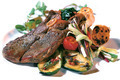 Lamb steak with vegetables - PhotoDune Item for Sale