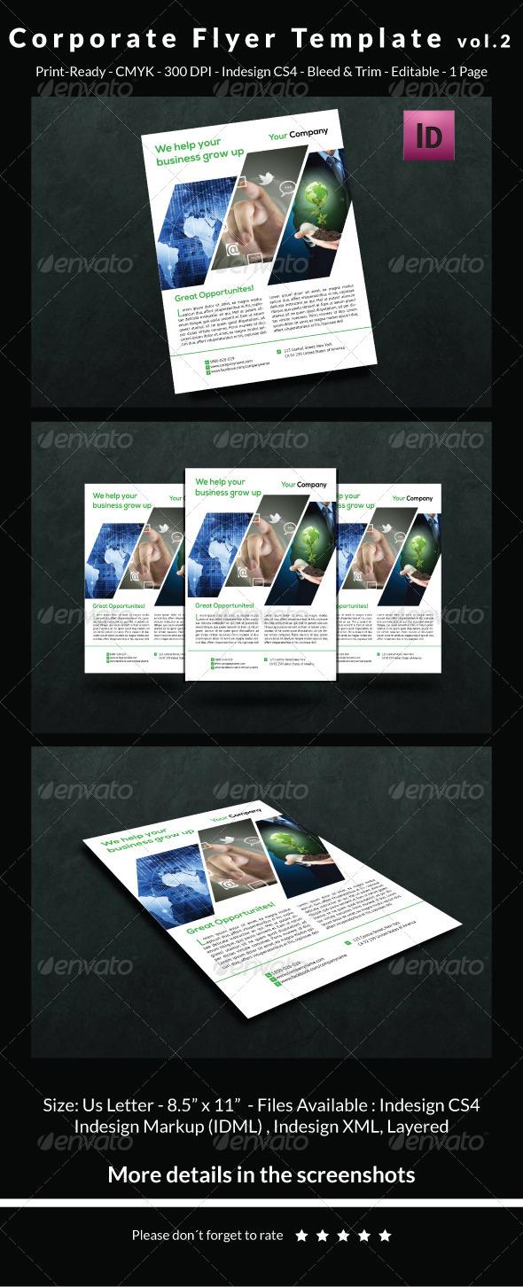 GraphicRiver Corporate Flyer Template Vol.2 6505060