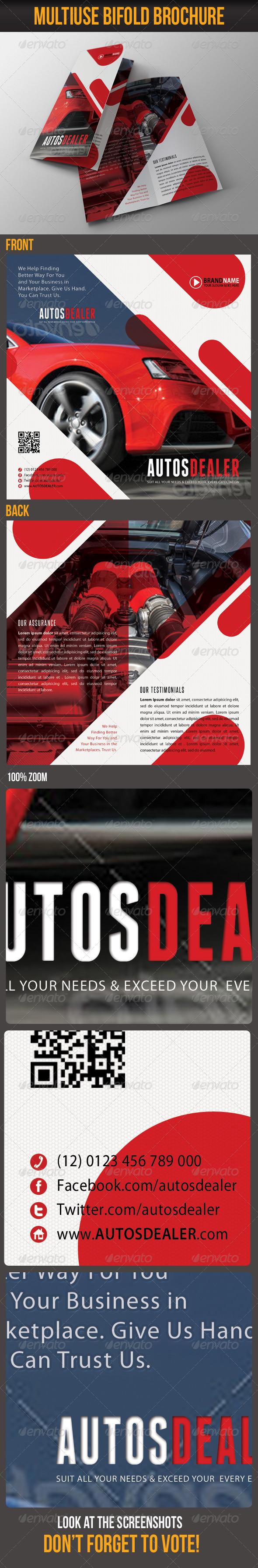 GraphicRiver Multiuse Bifold Brochure 39 6531125