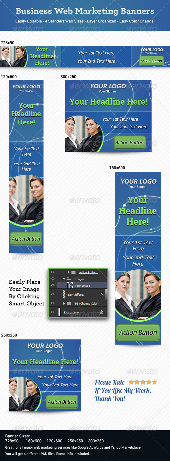 GraphicRiver Business Web Marketing Banners 6470978