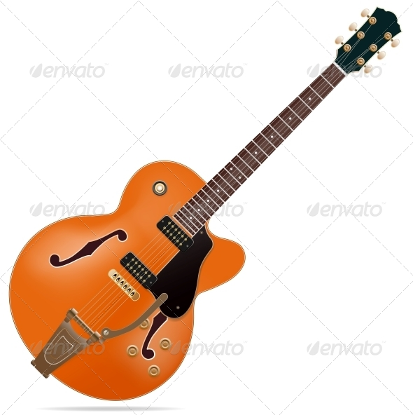 GraphicRiver Electric Guitar 6531170