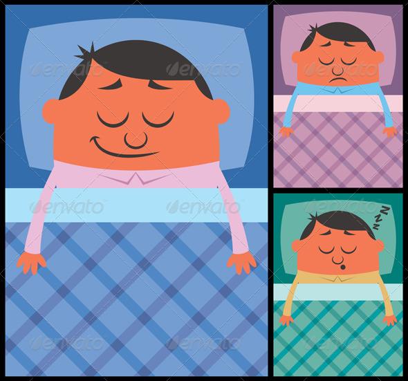 GraphicRiver Sleeping 6531174