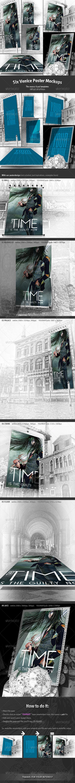 GraphicRiver 6 Venice Poster Mockups 6531201