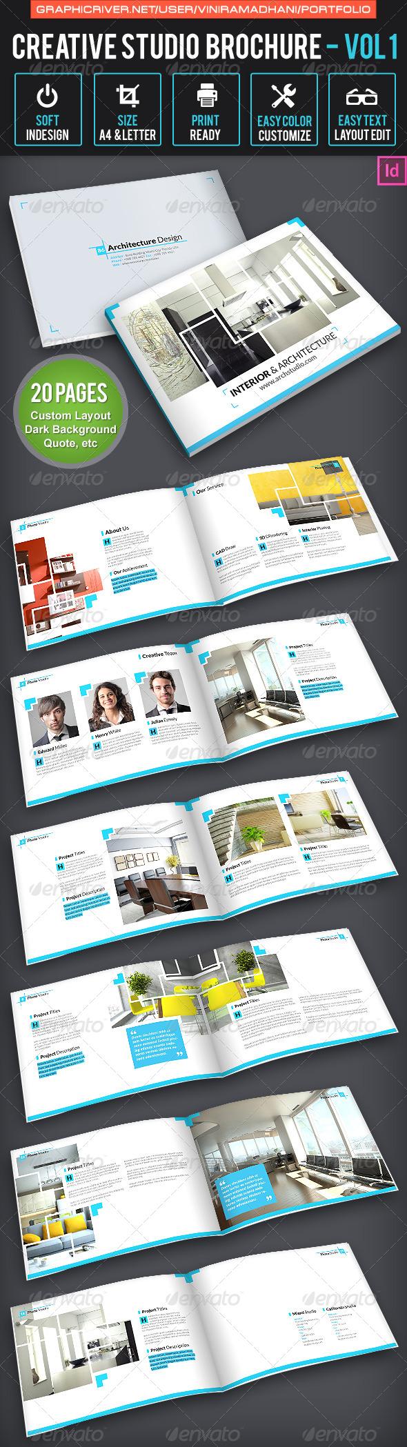 GraphicRiver Creative Studio Brochure Volume 1 6531207