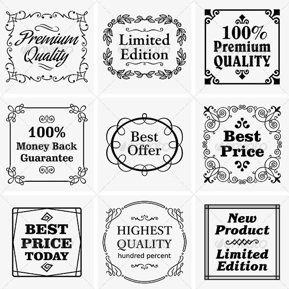 GraphicRiver Vintage Badges 6531443
