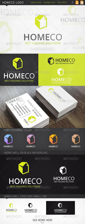 GraphicRiver Homeco Logo 6531461