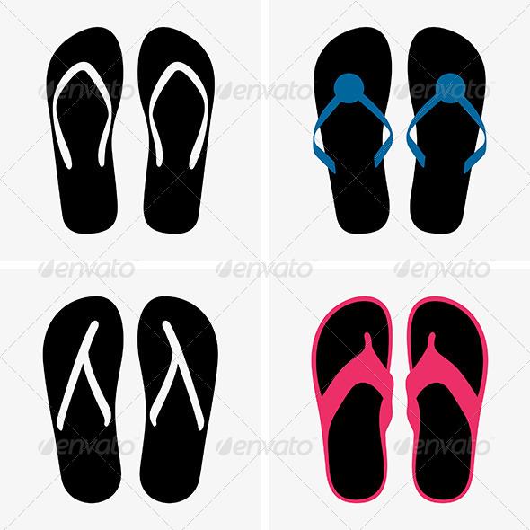 GraphicRiver Beach Shoes 6531462