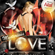Mysterious Love Valentine's Party Flyer Template - GraphicRiver Item for Sale