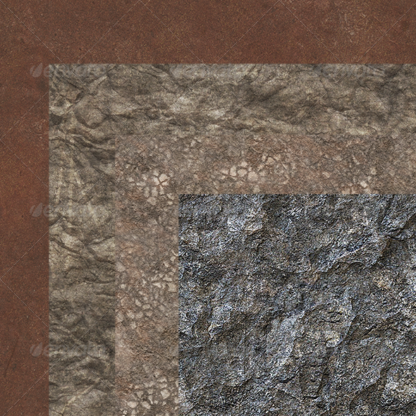 Landscape Textures - Rock, Wasteland - 3DOcean Item for Sale