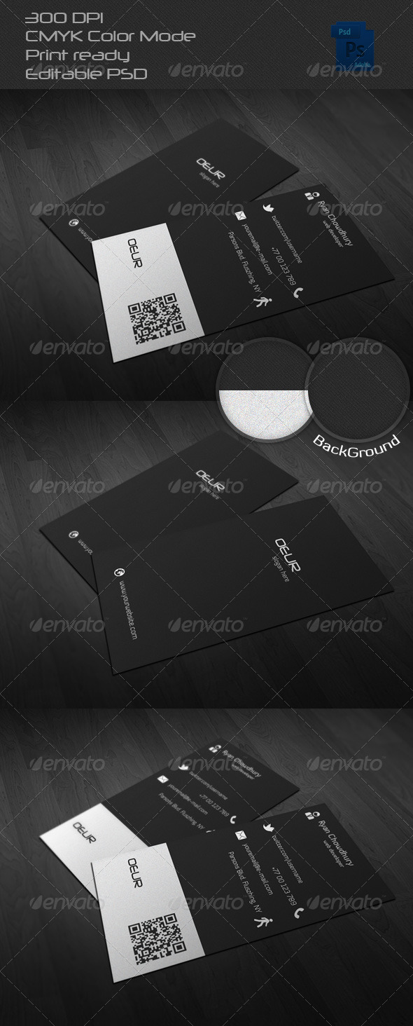 GraphicRiver Corporate Business Card 6531823
