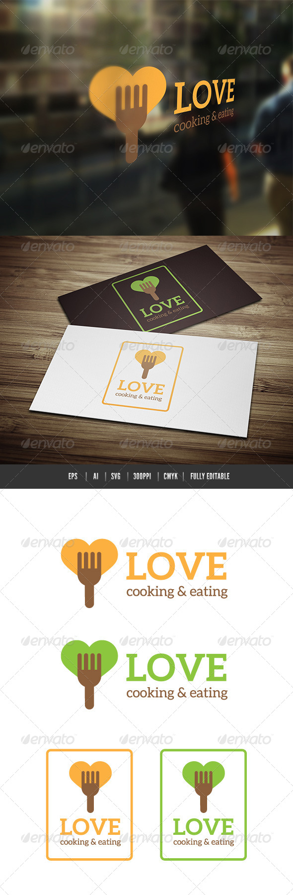 GraphicRiver Love Food Cooking 6531890