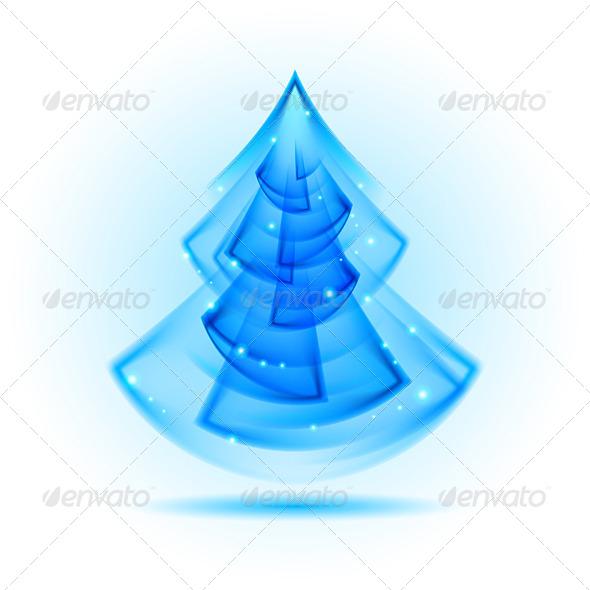 GraphicRiver Abstract Christmas Tree 6532007