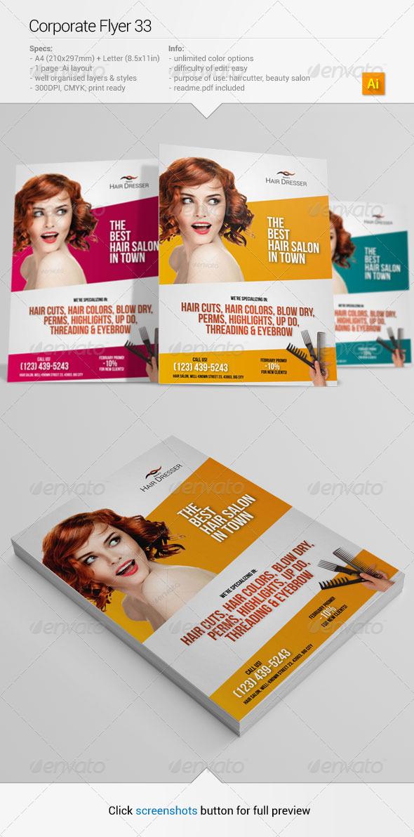 GraphicRiver Corporate Flyer 33 6532408