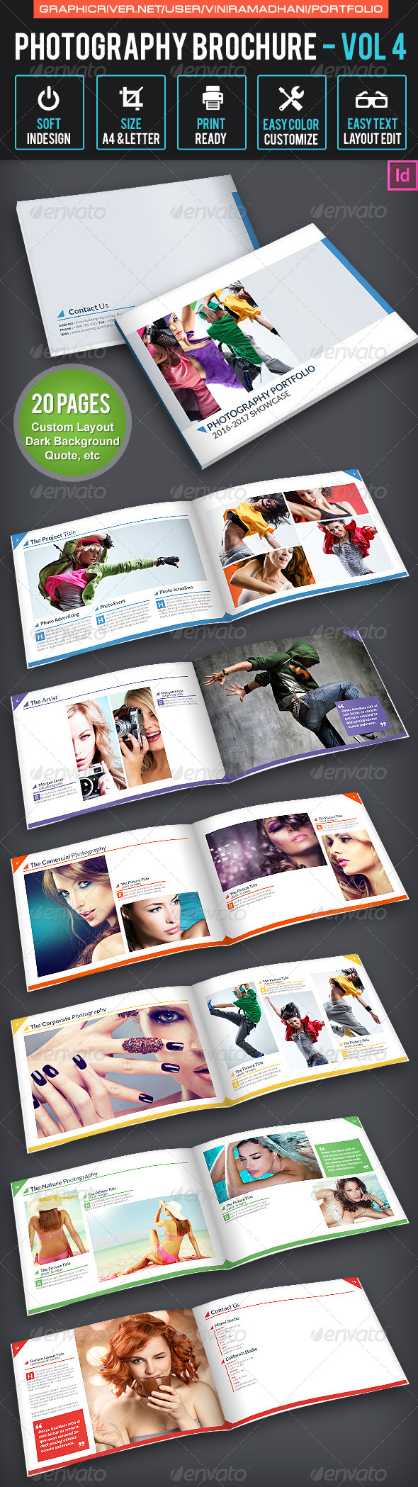 GraphicRiver Photography Brochure Volume 4 6532409