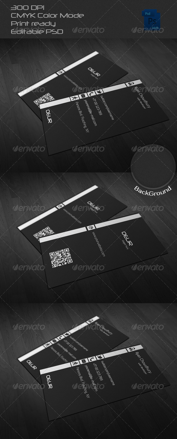 GraphicRiver Corporate Business Card 07 6532588