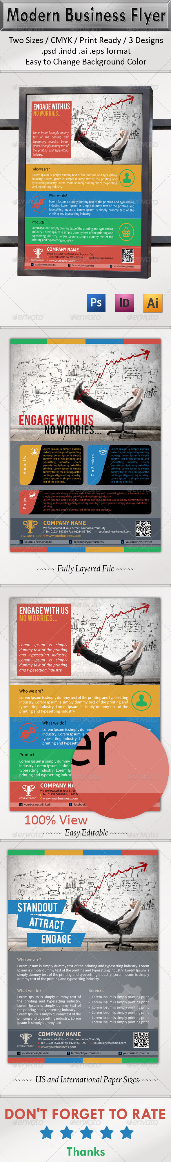 GraphicRiver Multipurpose Business Flyer 6508667