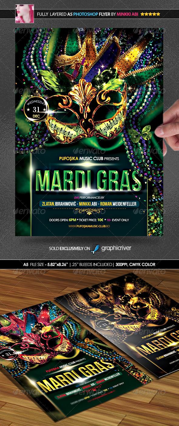 GraphicRiver Mardi Gras Poster Flyer 6533112