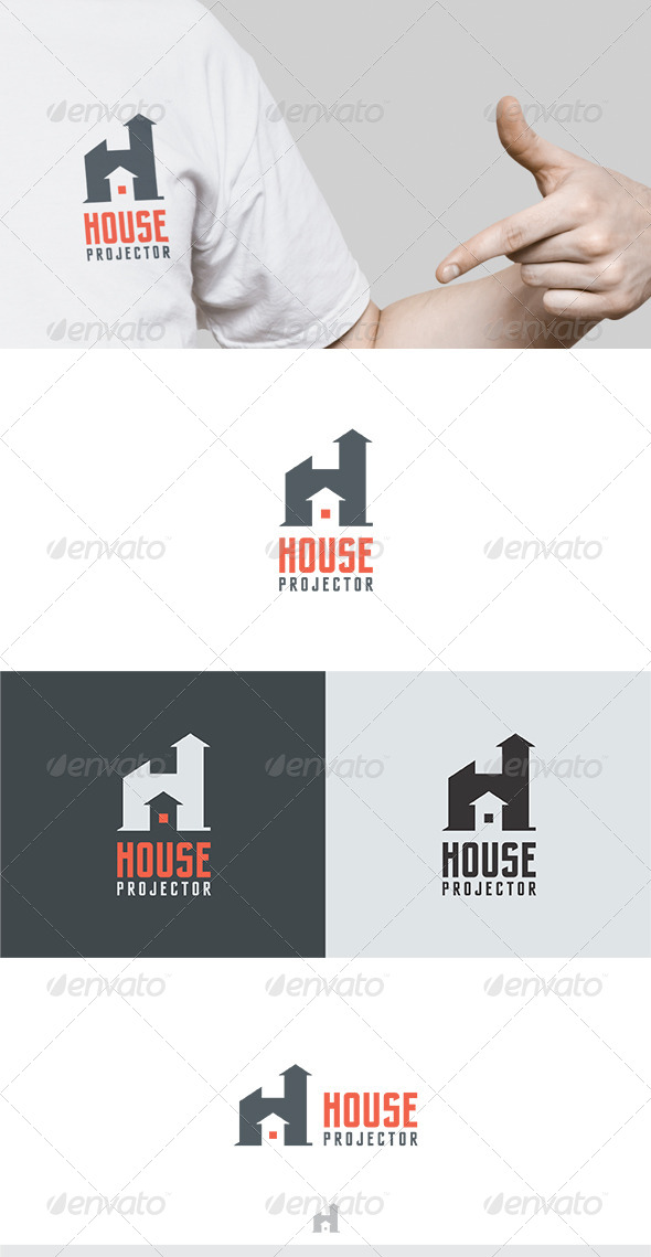 GraphicRiver House Projector Logo 6533142