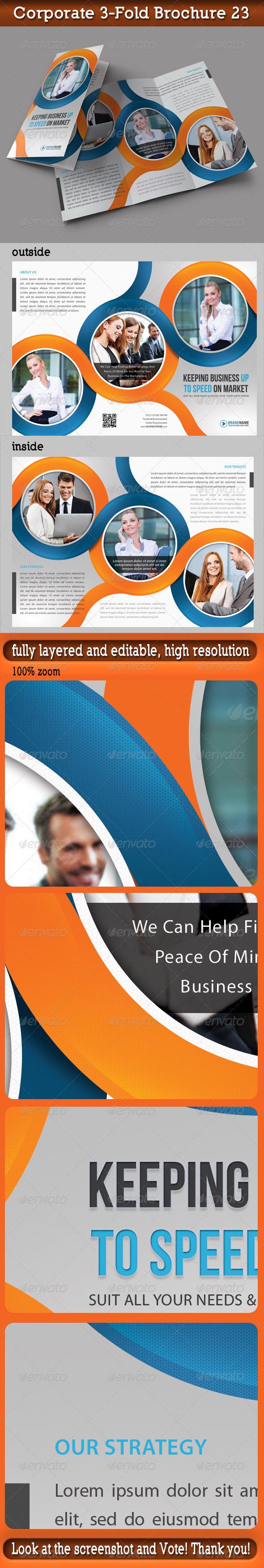 Corporate 3-Fold Brochure 23 - Corporate Brochures