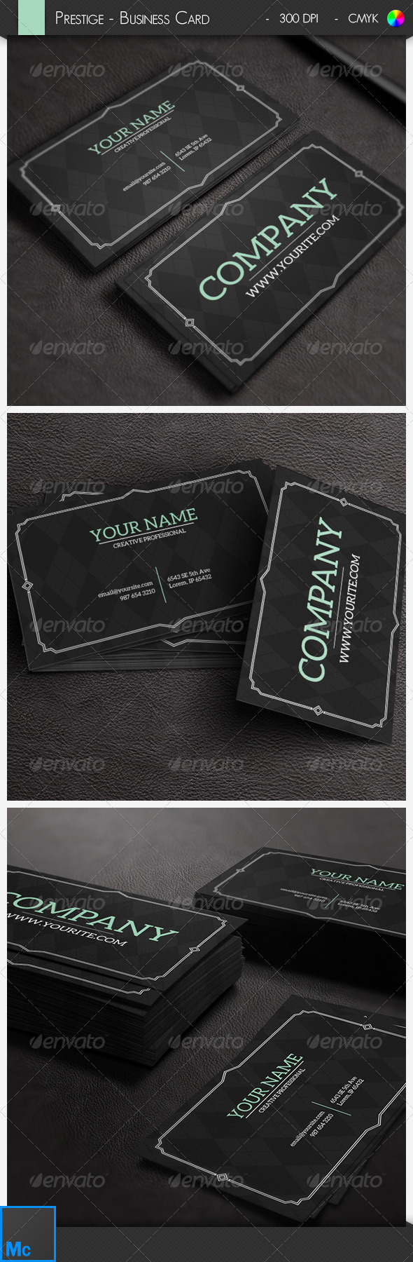 GraphicRiver Prestige Business Card 6533254