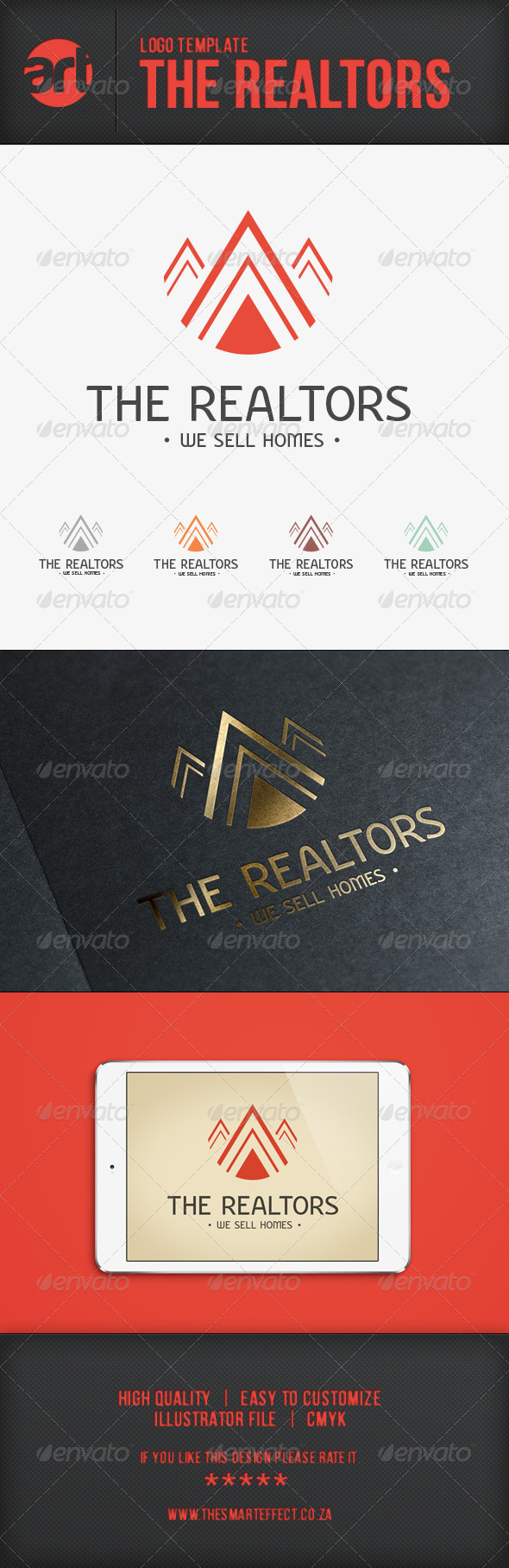 GraphicRiver The Realtors Logo Template 6533309