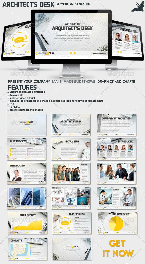GraphicRiver Architects Desk Presentation 6533467