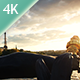 Sunset Over Paris Time Lapse - VideoHive Item for Sale