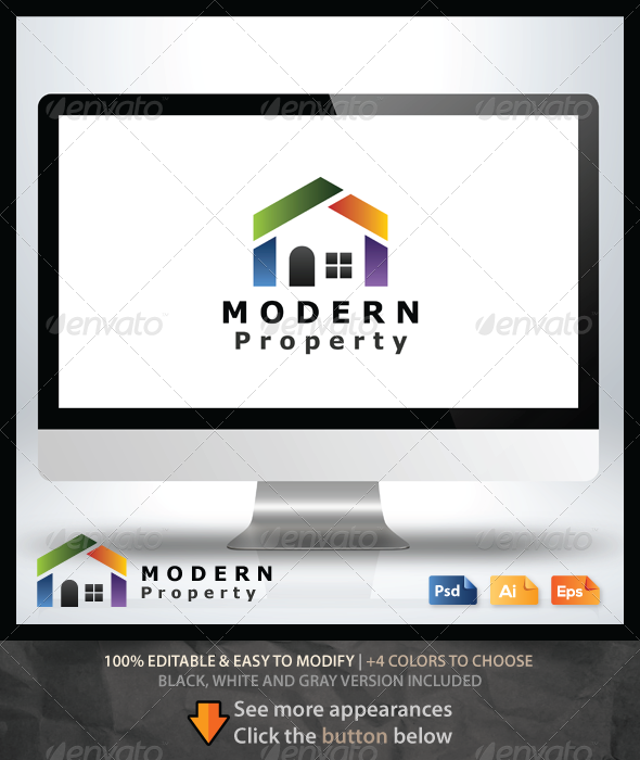 GraphicRiver Modern Property Logo 6533620