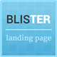 Blister Responsive Multi Purpose Landing Page - ThemeForest Item for Sale