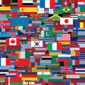 Background Made from World Flags. Template - PhotoDune Item for Sale