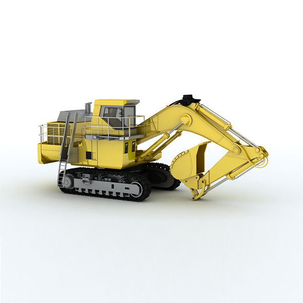 3DOcean Pc-2000 Construction truck CATERPILLA 6534026