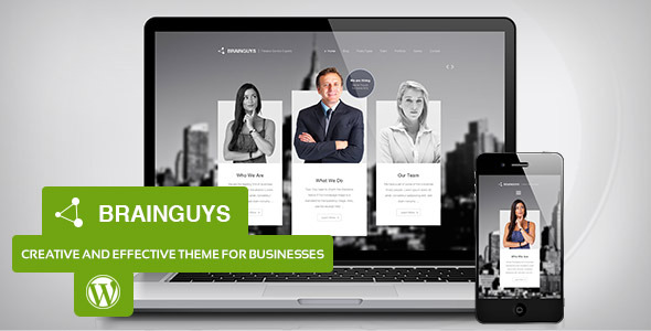 Brainguys - Creative Business Theme for WordPress